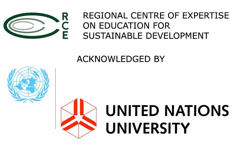 Regional Centre of Expertise on Education for Sustainable Development logo