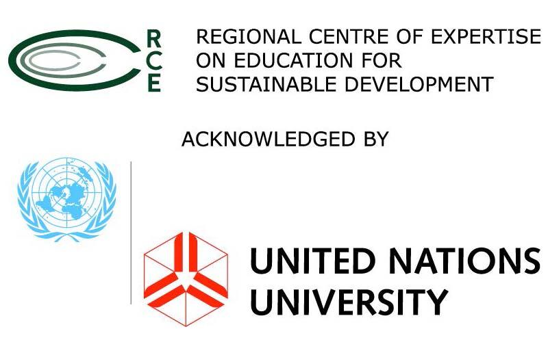 Regional Centre of Expertise on Education for Sustainable Development logo