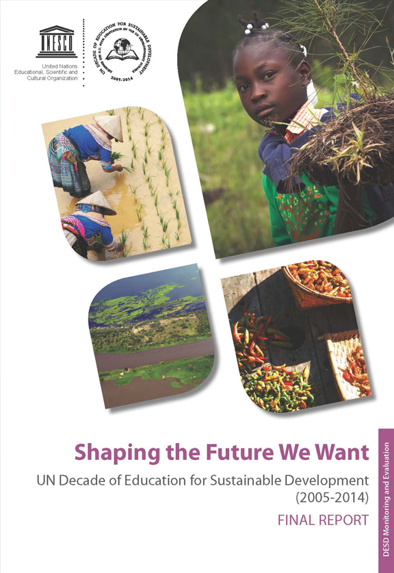 Shaping the Future We Want Report Cover