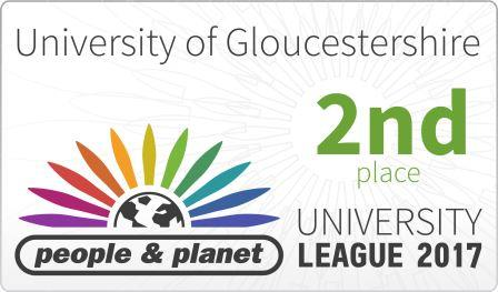 University celebrates 2nd place in the UK sustainability league!