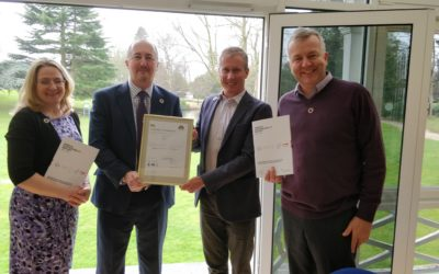 University accredited to new global standard