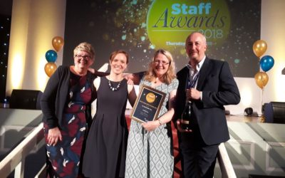 Awards success for sustainability staff and students