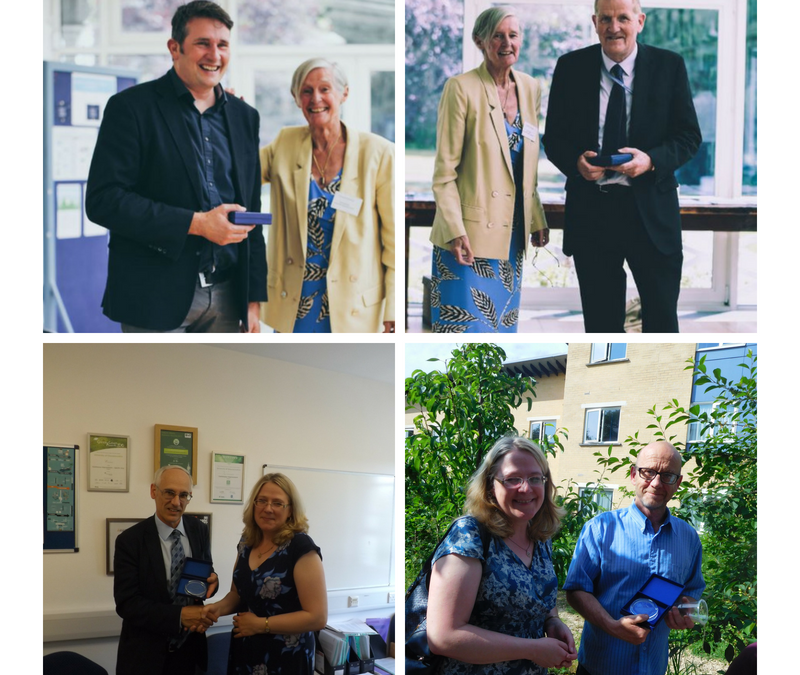 Sustainability Service Awards 2018