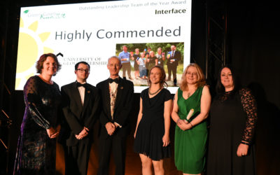 University Highly Commended in the Green Gowns Awards