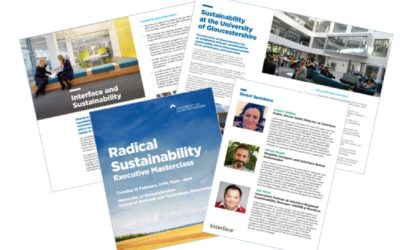 Radical Sustainability masterclass 12 February