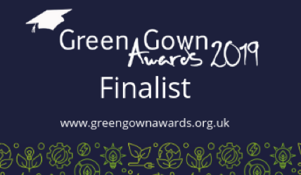 3 Finalist entries in the UK Green Gown Awards