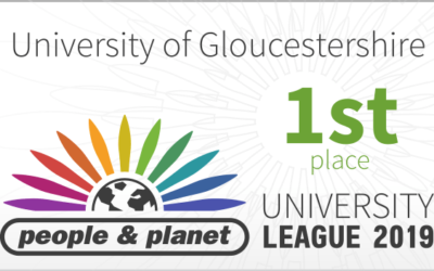 University Tops the UK Sustainability League!
