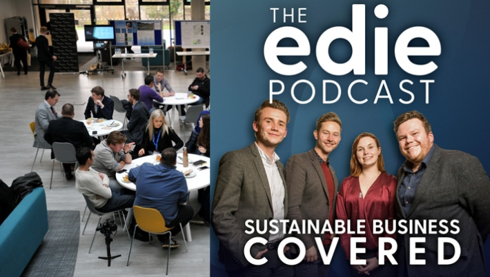 University headlines in industry-leading sustainable business podcast