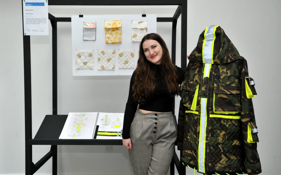 UN publication features for sustainable fashion collaboration with Cheltenham Education Partnership