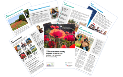 Annual Sustainability Report published for 2019-2020