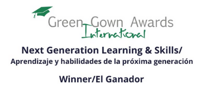 School of Education and Humanities wins at the International Green Gown Awards