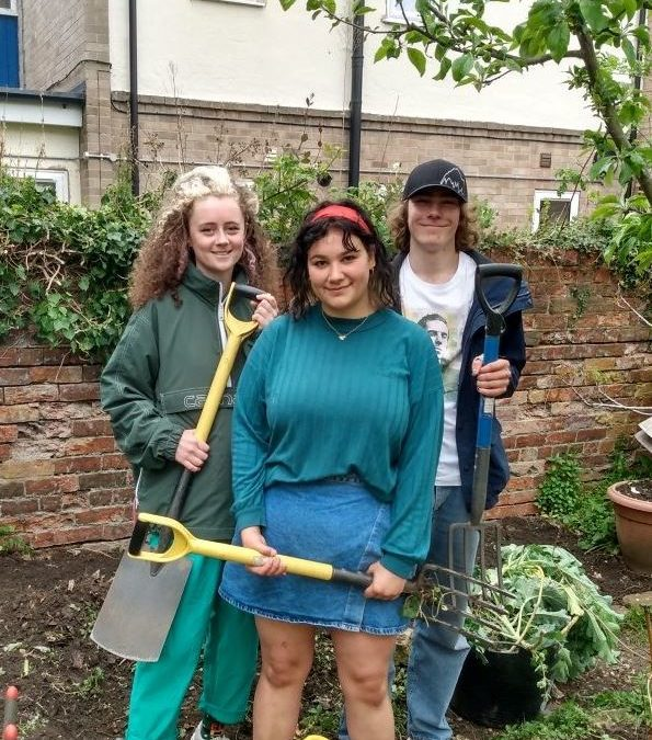 FCH Edible Garden provides a haven during a difficult year