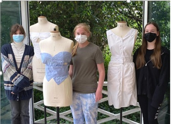 LIFT Project 'Thread Counts' inspires local pupils to think sustainably when it comes to fashion.